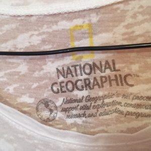 National Geographic Tops - Delias Sheer Panda Shirt